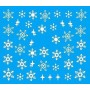Water Tattoo Snowflakes - 083