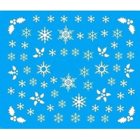 Water Tattoo Snowflakes - 084