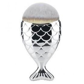 Fish Dust Brush silver