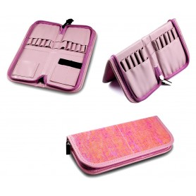 Brush Bag Chameleons Pink