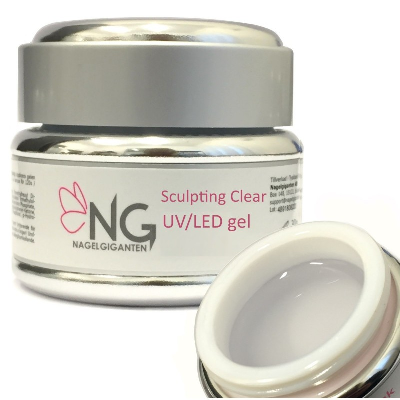 NG Sculpting Clear UV/LED Gel