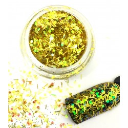 Glamour Mix Glitter in 3ml. jars - nr.21