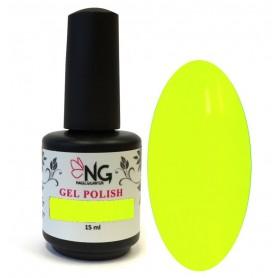 724 Neon Yellow - NG LED/UV Soak Off Gel Polish 15ml