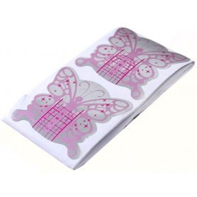 Tester Nail Forms Butterfly 10 pcs