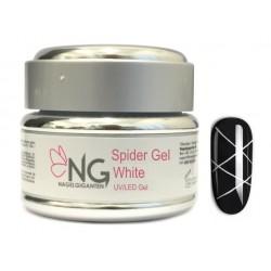 WHITE - NG Spider UV/LED Gel 5ml