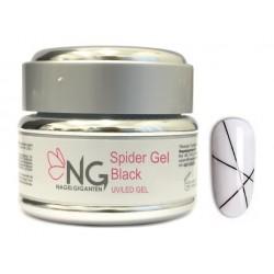 BLACK - NG Spider UV/LED Gel 5ml