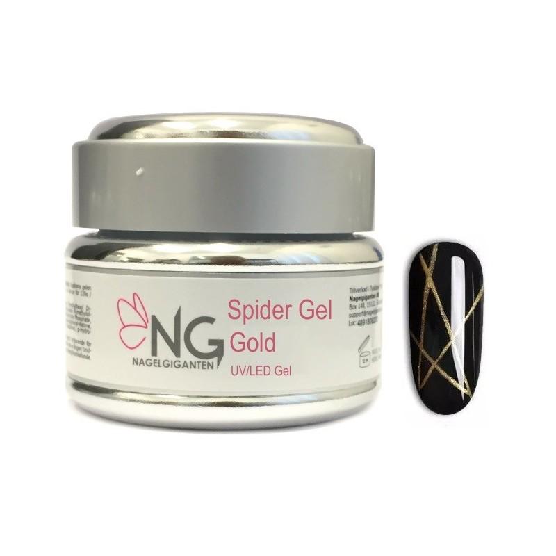 GOLD - NG Spider UV/LED Gel 5ml