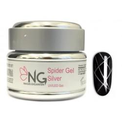 SILVER - NG Spider UV/LED Gel 5ml