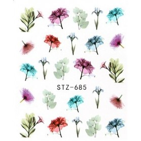 Water Tattoo Floral - 685