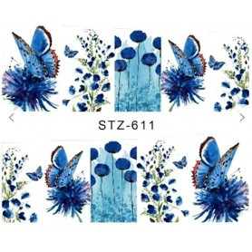 Water Tattoo Floral - 611