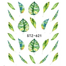 Water Tattoo Floral - 621
