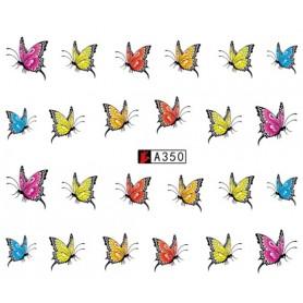 Water Tattoo Butterflies - 350