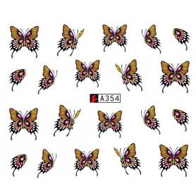 Water Tattoo Butterflies - 354