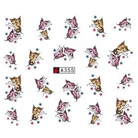 Water Tattoo Butterflies - 355