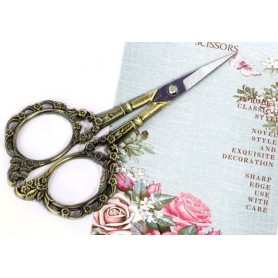 Design Nail Scissors Bronze