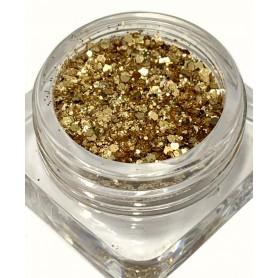 Bullion Glitter MIX Gold