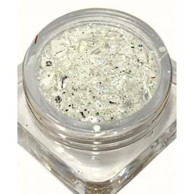 Bullion Glitter MIX White