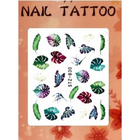 Water Tattoo Floral - 830