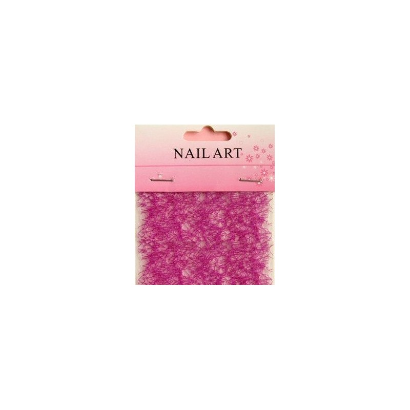 500 - Nail Art Spider Net Purple