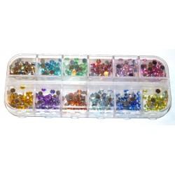 Multicolor Rhinestones Set 600 st