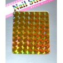 Dazzling Nail Stickers Sheet - 5