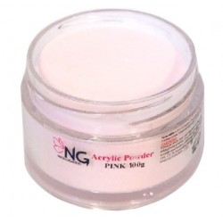 NG Akryl Puder - Pink (Transparant) 100gg