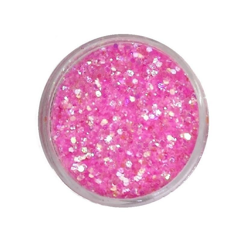 Glamour Mix Glitter in 3ml. jars - nr.17