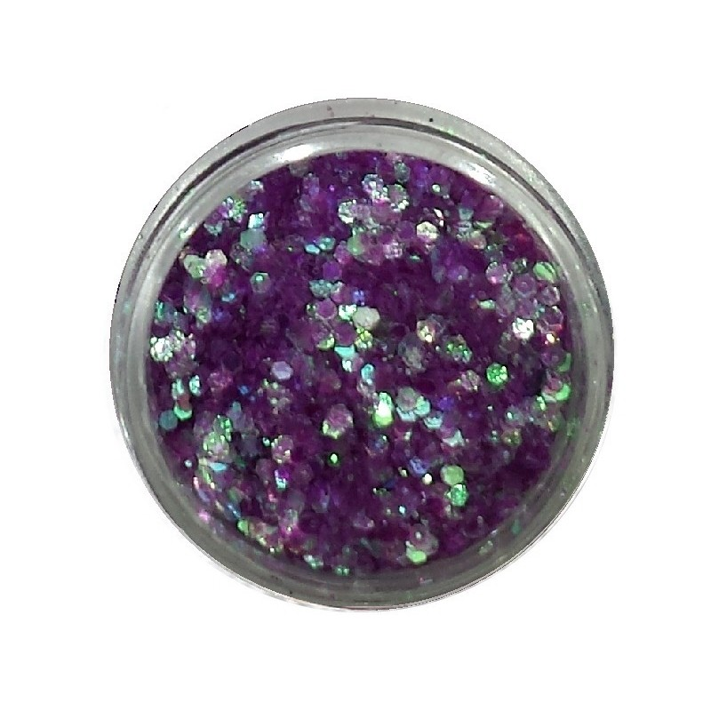 Glamour Mix Glitter in 3ml. jars - nr.2