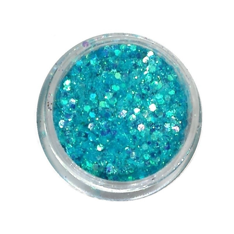 Glamour Mix Glitter in 3ml. jars - nr.9