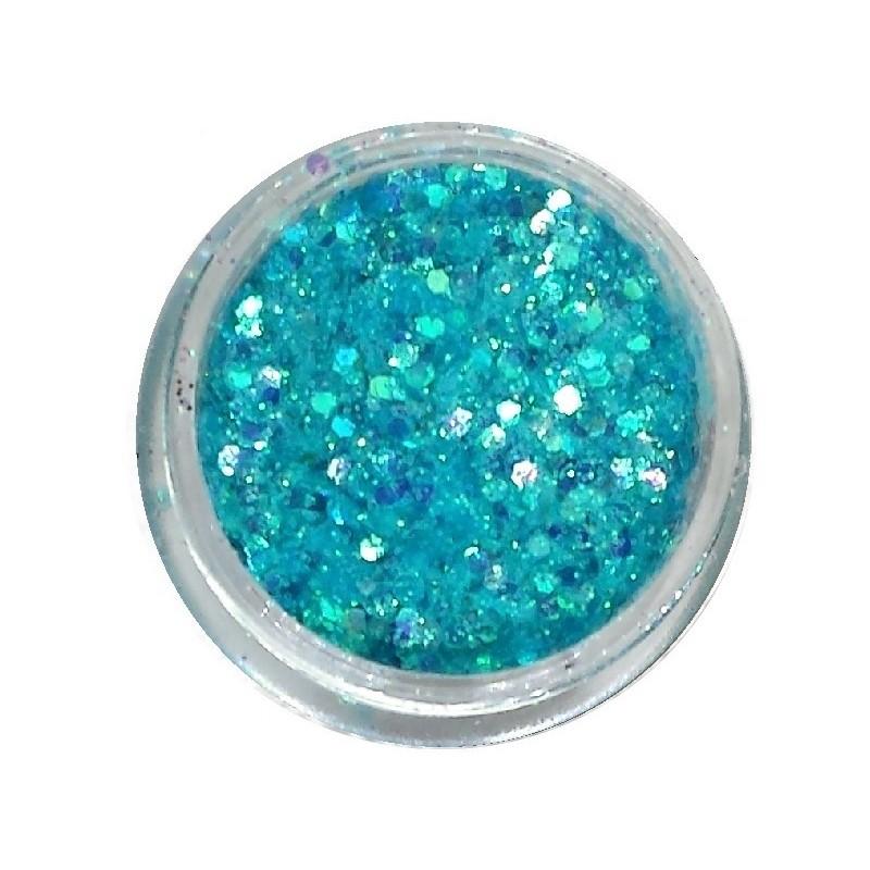Glamour Mix Glitter in 3ml. jars - nr.9