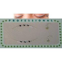 Rhinestone Eye stickers - 2