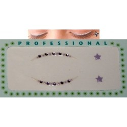 Rhinestone Eye stickers - 4