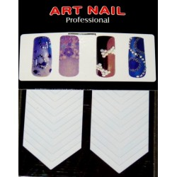 French Manicure Forms - V