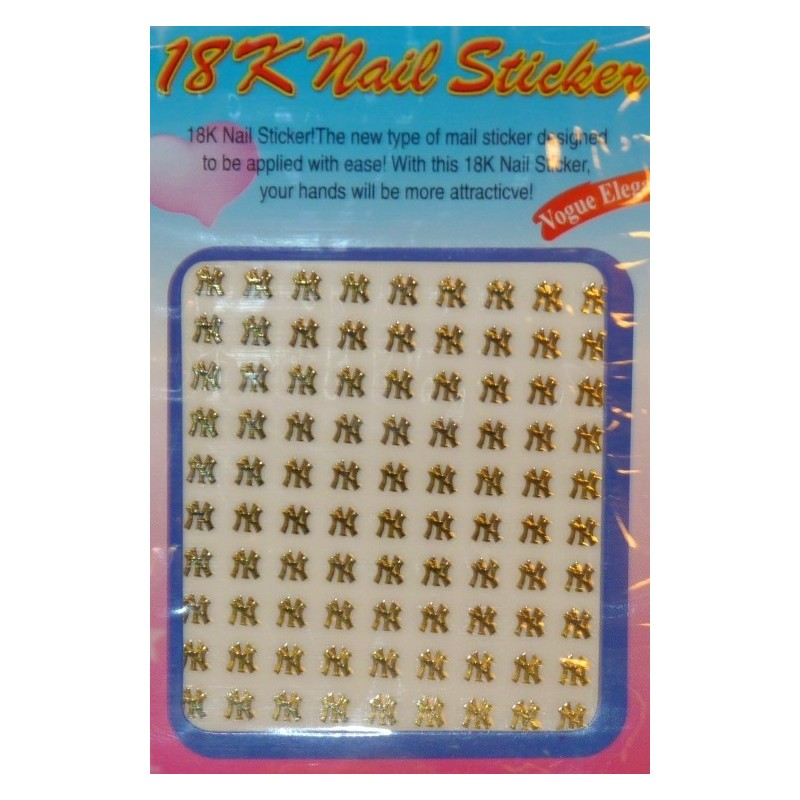 Logo Stickers - 17 (gold)