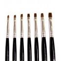 UV Gel Brush Kit - 7 sizes