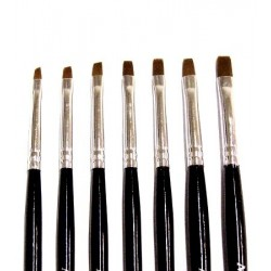 UV Gel Brush Kit - 7 sizes