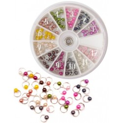 Nail Dangles 10pcs x 12colors