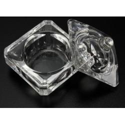 Glass Dappen Dish Square