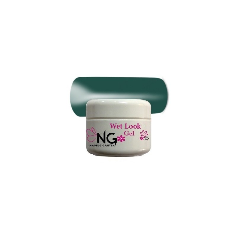 Wet Look Gel 4.5gr - Darkgreen 20