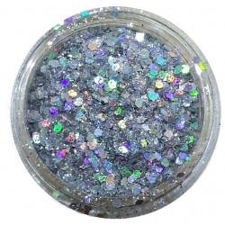 Glamour Mix Glitter in 3ml. jars - nr.12