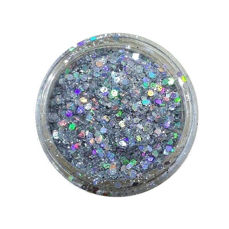 Glamour Mix Glitter in 3ml. jars - nr.12