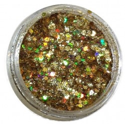 Glamour Mix Glitter in 3ml. jars - nr.14