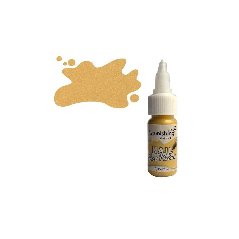 AN - Nail Art Paint 002 Sunglow 15 ml.