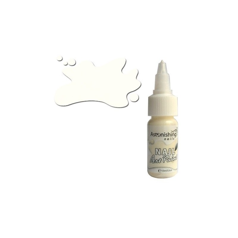 AN - Nail Art Paint 006 Ivory 15 ml.