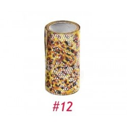 Nail Art Foil Roll in bag - 12