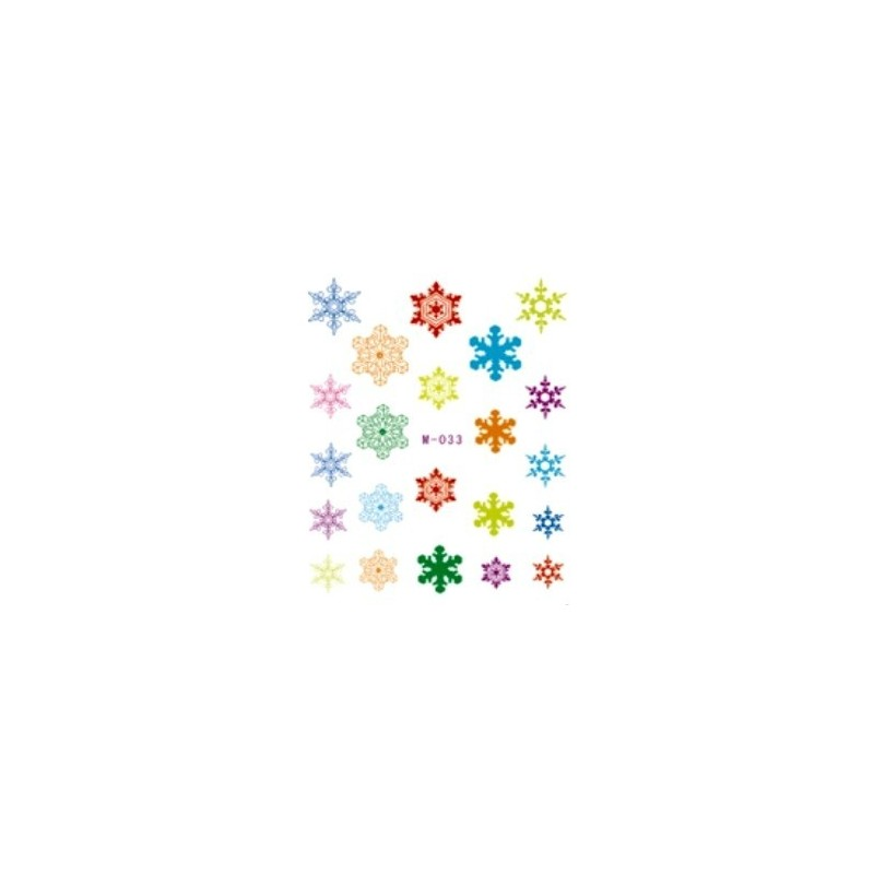 Stickers Snowflakes - 1b