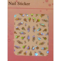 Silver Holographic Stickers - 1