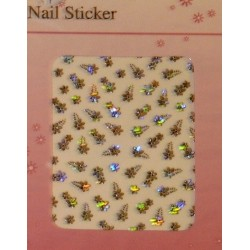 Silver Holographic Stickers - 7