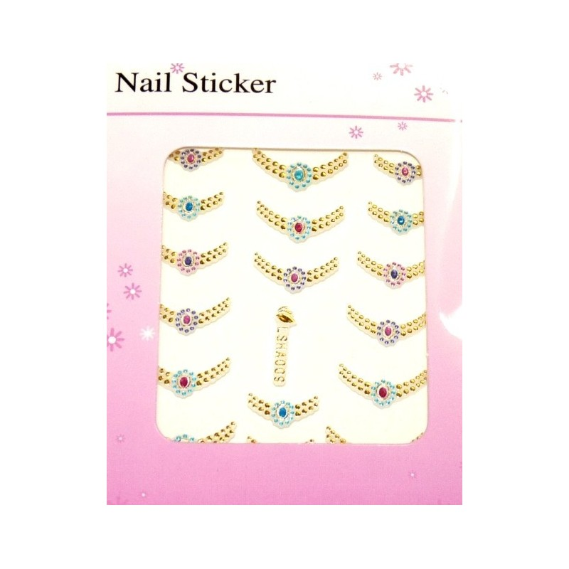 Colorful Gold Stickers 4
