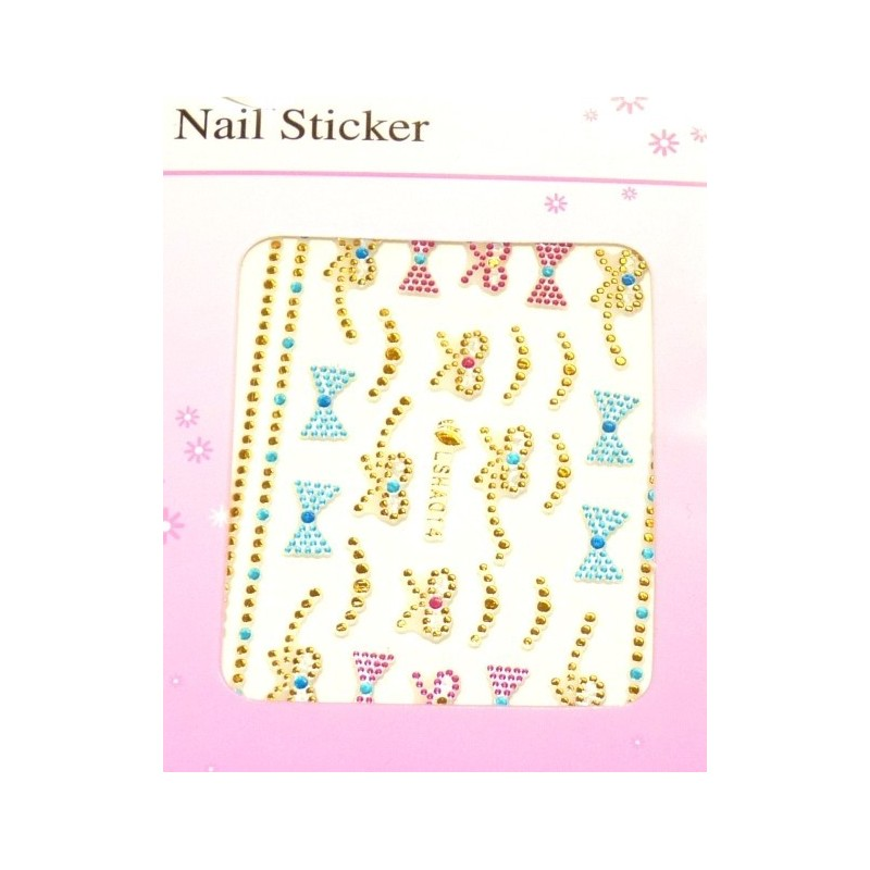 Colorful Gold Stickers 7
